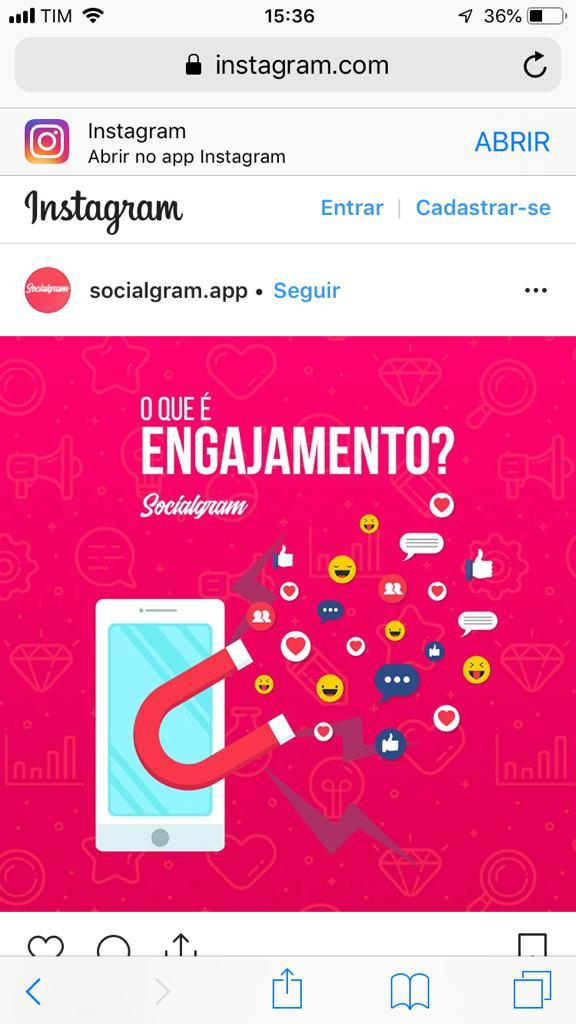 Como copiar texto do Instagram 02