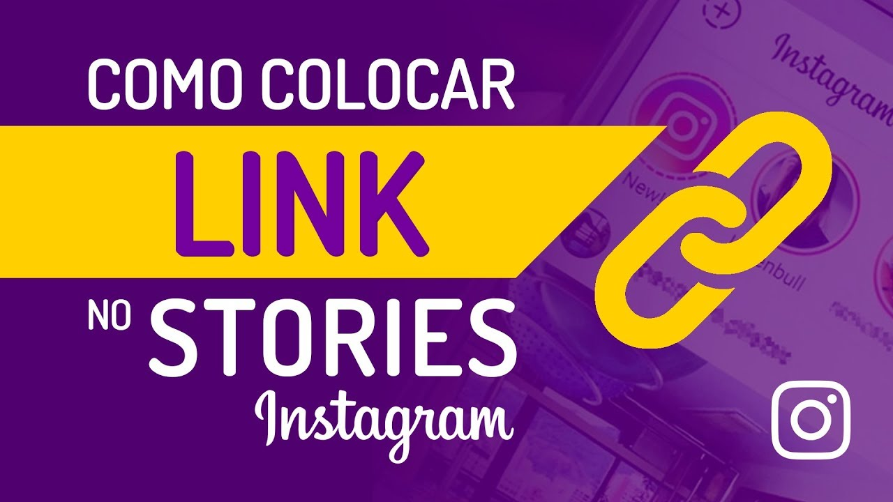 como colocar link no stories do instagram